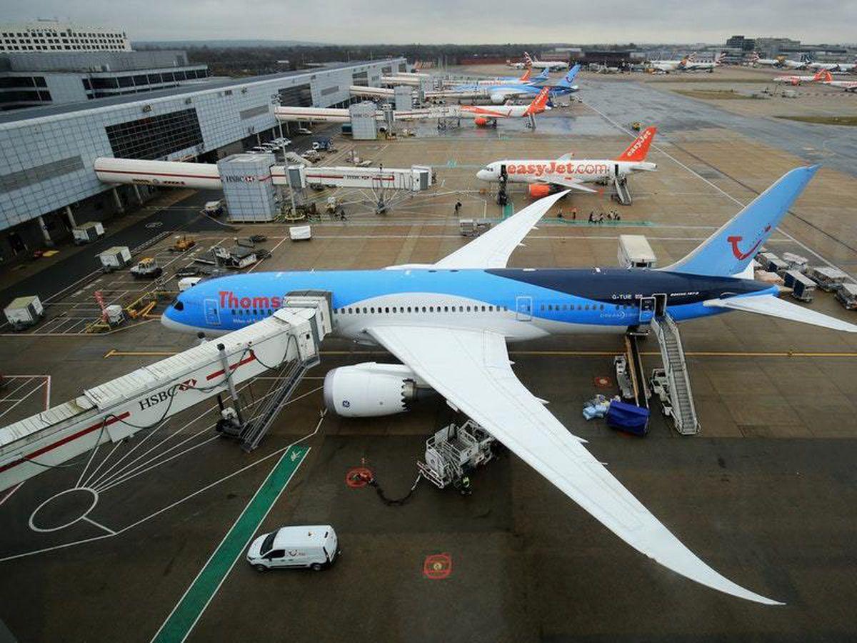 Gatwick Airport stock