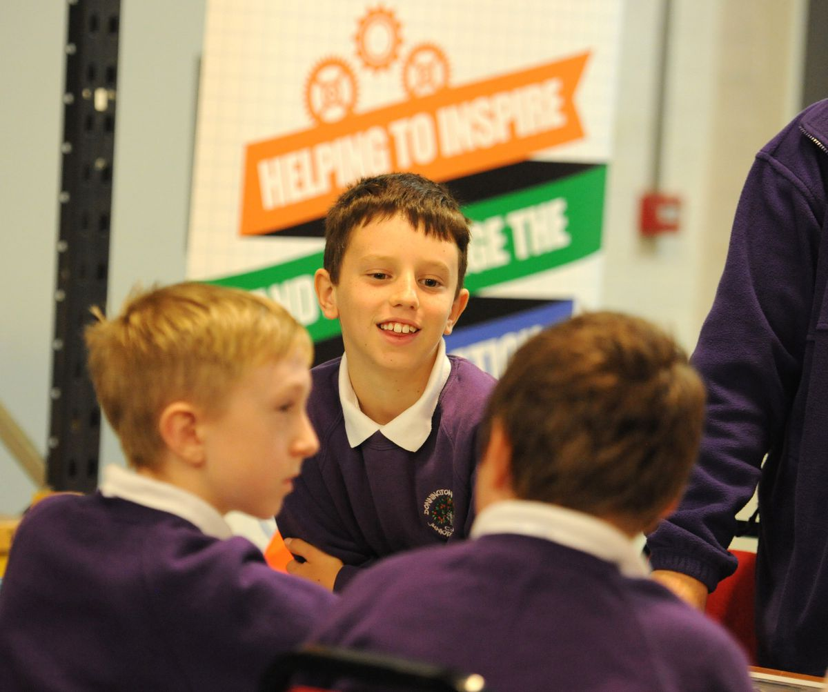 Donnington Wood pupils take part