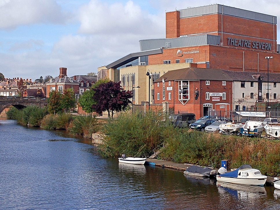 Theatre Severn and Old Market Hall in Shrewsbury have best attendances to date