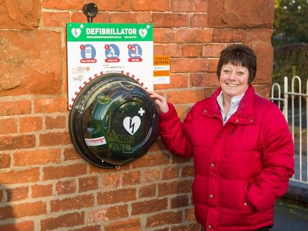 Three defibrillators for Welshampton community