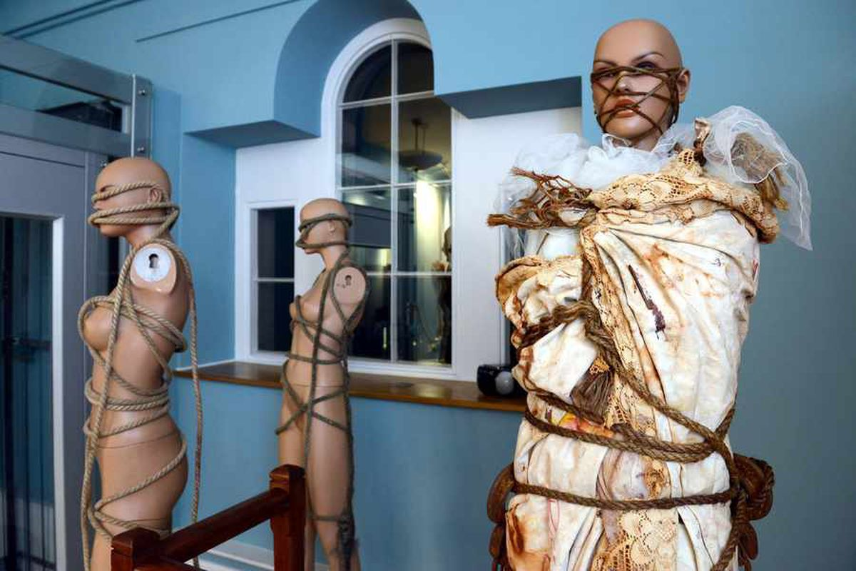Shock tactics? Challenging Shropshire art show prompts controversy