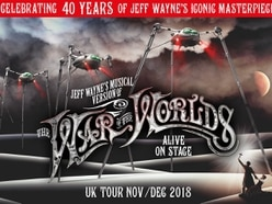 Jeff Wayne's Musical Version of The War of the Worlds coming to Birmingham