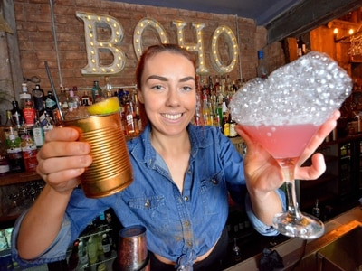 We'll raise a glass to that! What it's like to be a bartender
