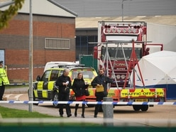 Murder probe launched as 39 bodies are found in lorry container in Essex