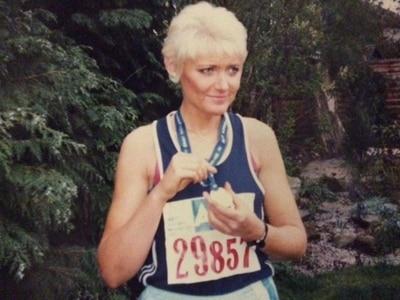 Lorraine is back training for a marathon three decades on