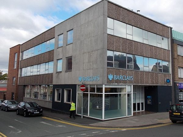 Barclays branch in Wellington