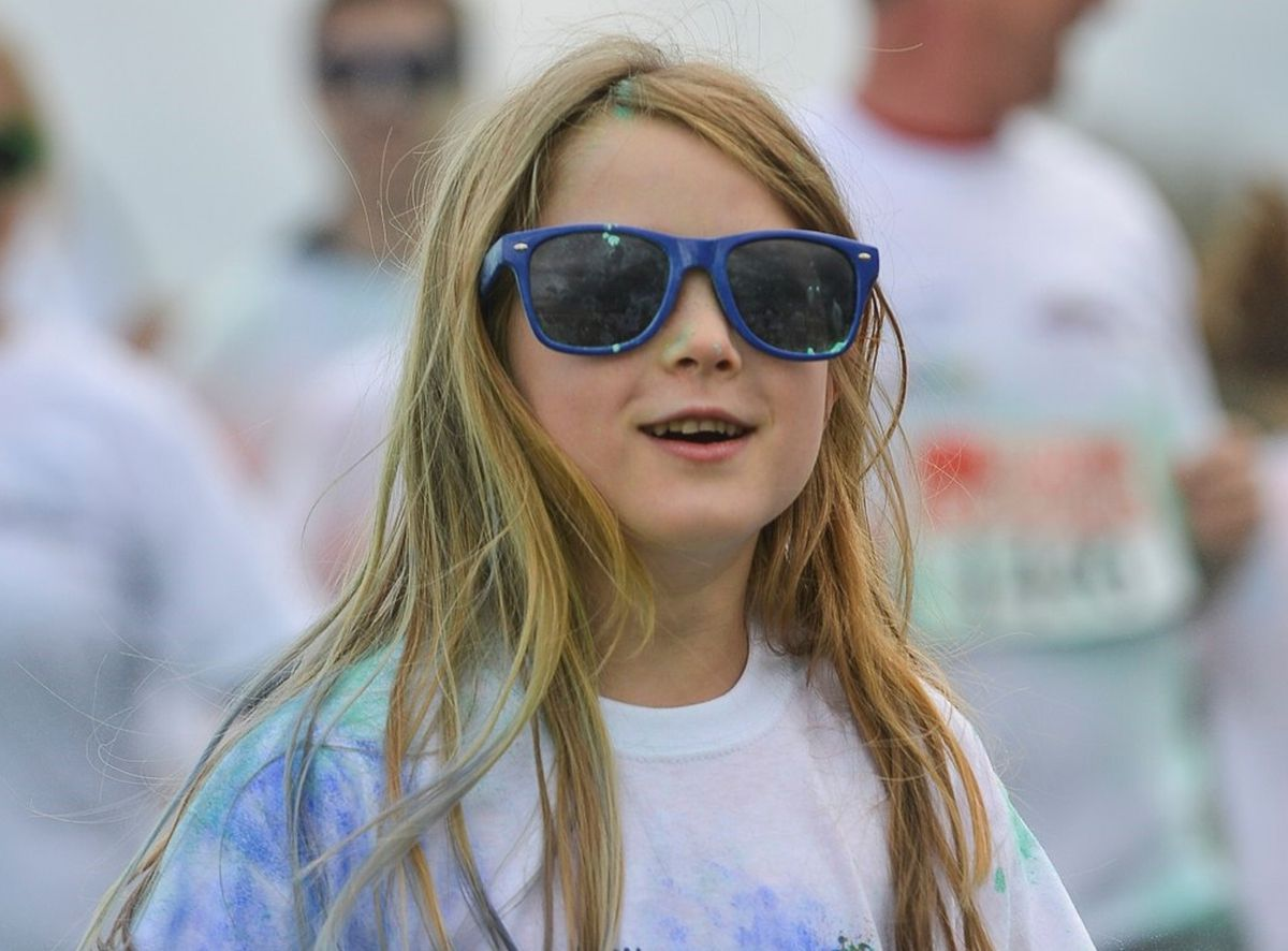 A recent picture of Cleo on a colour run