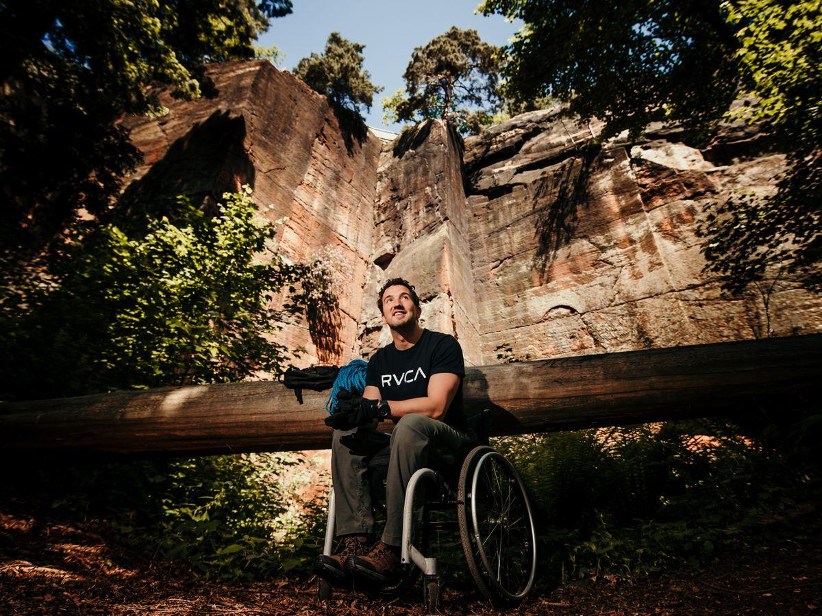 'I wasn't sure I'd walk again': Benefactor gave paralysed Shrewsbury climber robotic exoskeleton