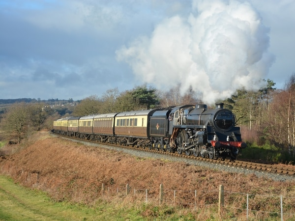 Going loco over train legend as SVR steam engine hits tracks again - with video