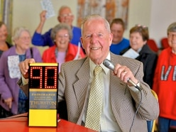 It's top of the shop 90 for Shropshire bingo caller John