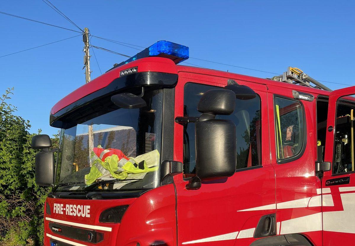 Shropshire Fire Service at Pontesbury