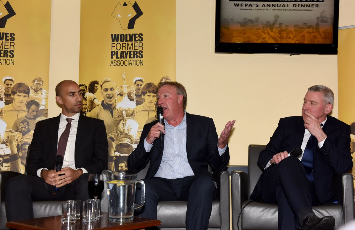 Wolves Former Players dinner Molineux - Kenny Jackett answering questions