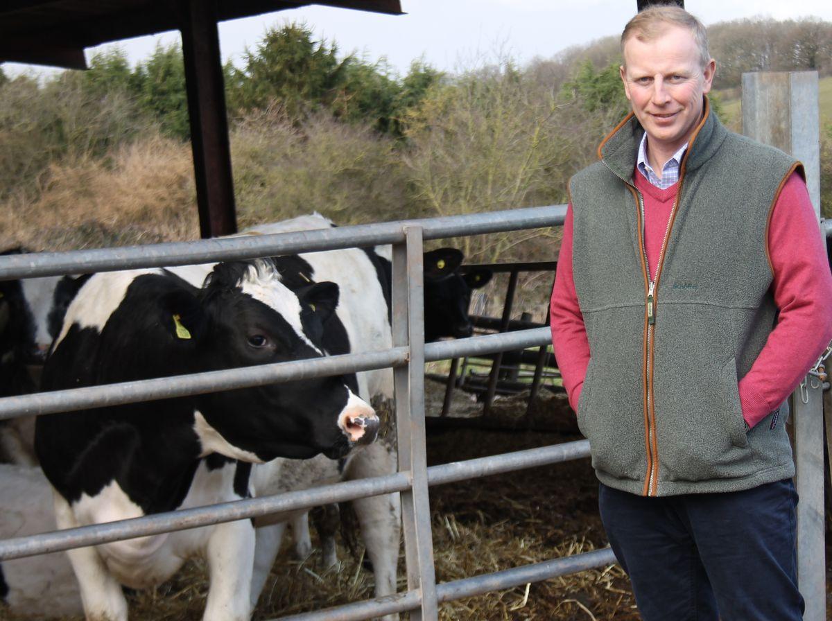 Richard Yates, Shropshire chairman of the National Farmers' Union (19830329)
