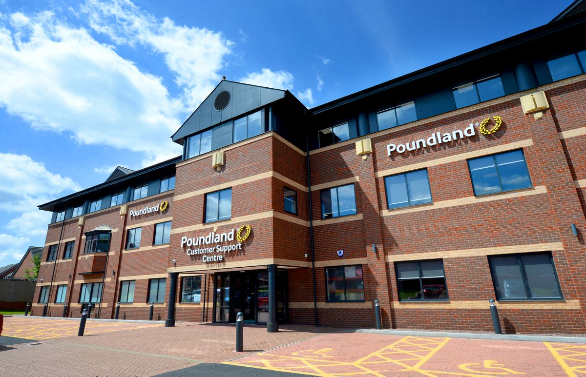 Poundland's Customer Support Centre in Walsall