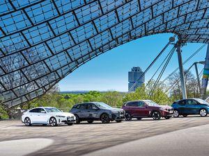 BMW. Electric Vehicle Range