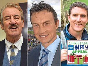 Host of celebs back Shropshire festive gift appeal