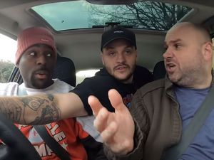 Romell Henry, Jay Swingler and Richard Percival in a video posted on the TGFbro YouTube channel