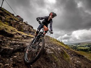 Moreton Hall's Sixth Form student Ellie Jones proved her status as one of the nation's most formidable Enduro mountain bike racers
