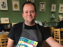 Chirk cafe supporting hospice
