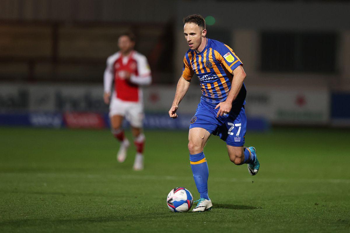 Marc Pugh of Shrewsbury Town (AMA)