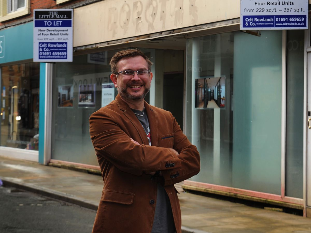Councillor Mike Isherwood, says the town council will work with organisations such as the Heritage Action Zone to ensure Oswestry prospers