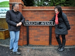Road named 'Wright Avenue' after former council chairman