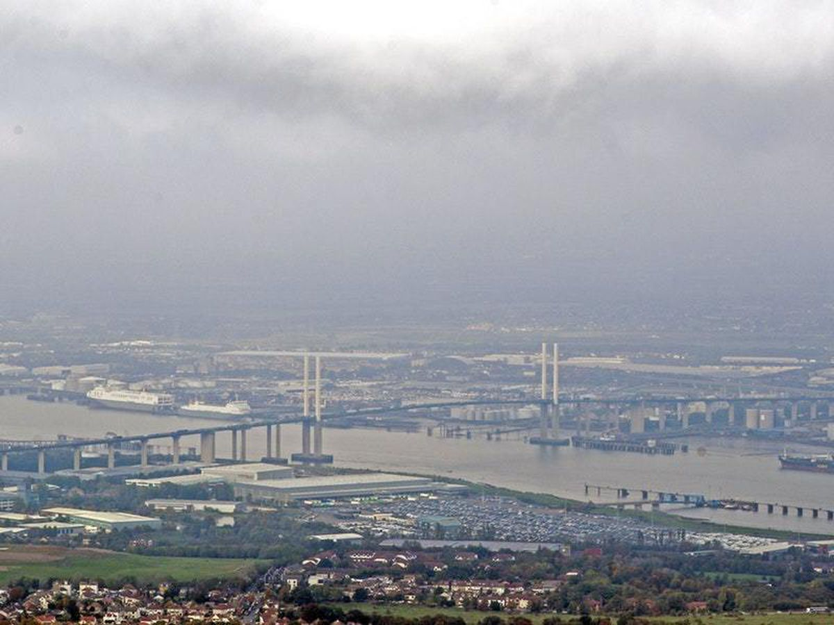 The Dartford Crossing in Kent