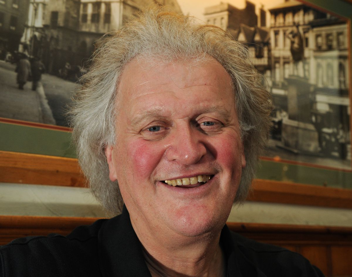 Tim Martin at The Shrewsbury Hotel