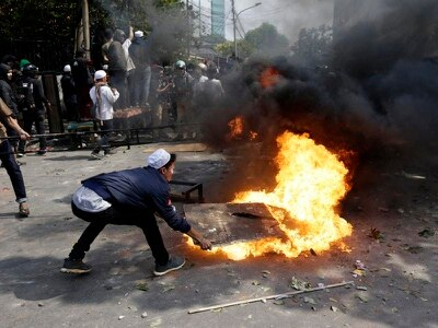 Protesters clash with police after Indonesia election defeat