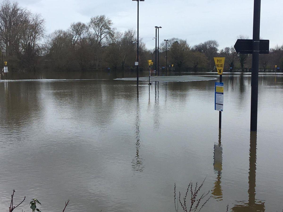 Frankwell car park