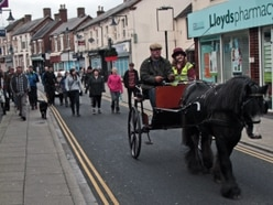 Pit pony leads way for Dawley walk to mark Cinderloo uprising