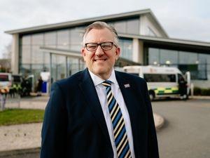 Chief executive Mark Brandreth at The Robert Jones and Agnes Hunt Orthopaedic Hospital near Oswestry