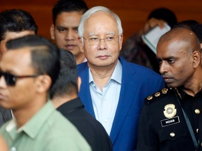 Malaysia's former prime minister Najib Razak arrested
