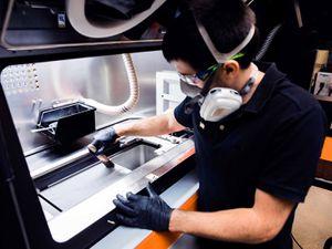 Protolabs' direct metal laser sintering