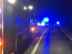 Two-car crash closes A529 near Market Drayton