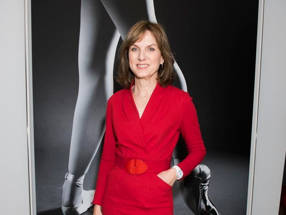 Fiona Bruce Keeps Quiet On Question
