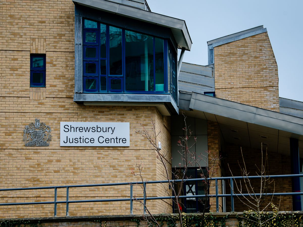 Shrewsbury Crown Court heard how every room of the house had cannabis plants in them