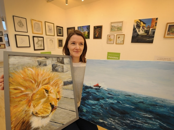 Exhibition of work at Oswesty's Qube