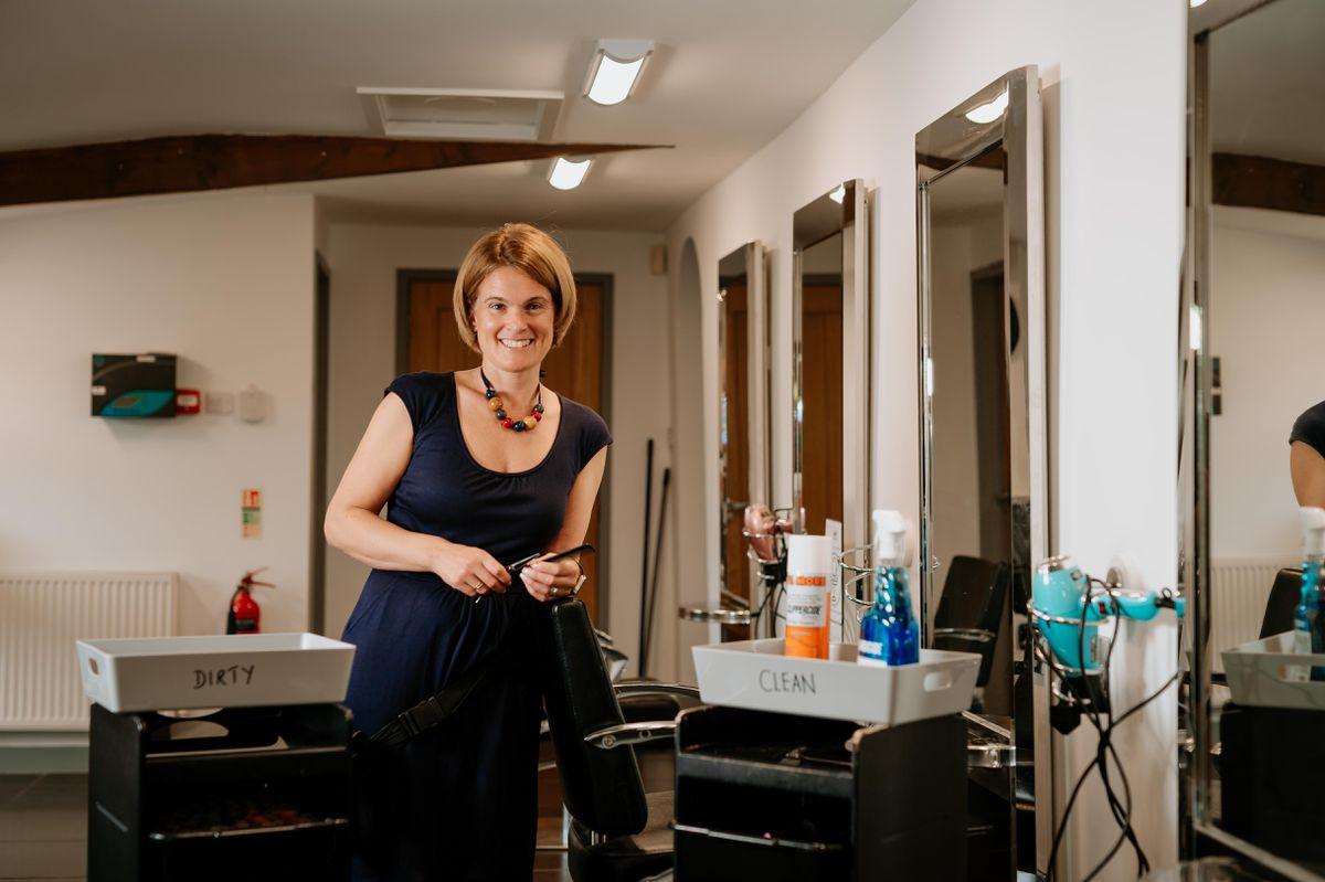 Owner Helen Humphreys at Sophisticutz