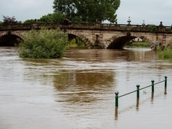 Flood warnings in place in Shropshire as county set for respite from rain