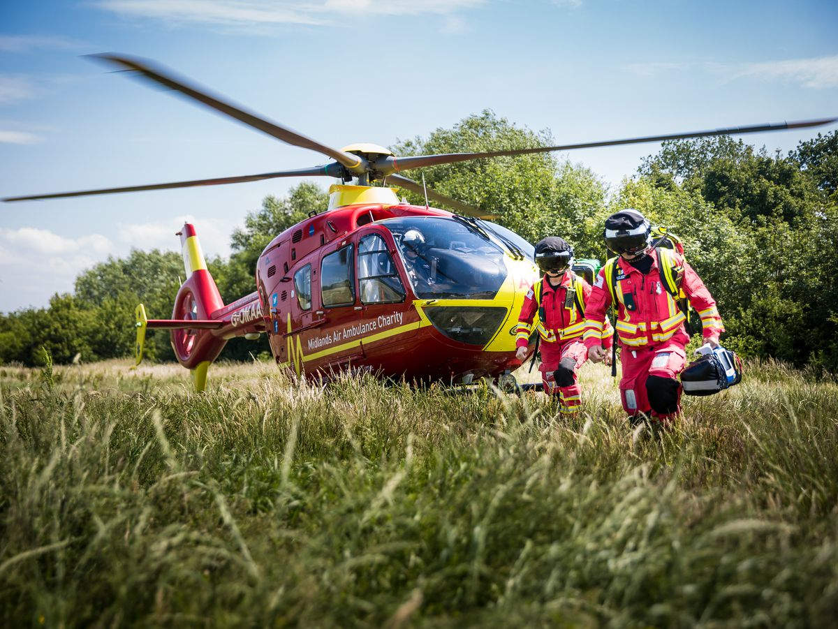 Midlands Air Ambulance Charity has been crowned Outstanding Charity of the Year