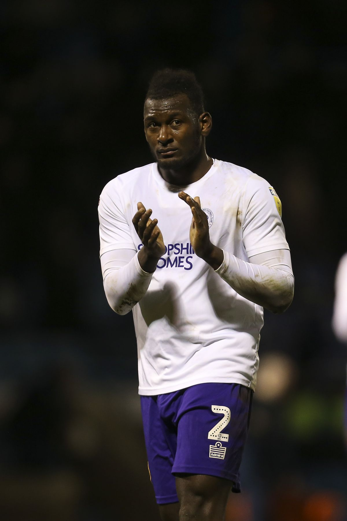 Shrewsbury player of the year Aaron Pierre is reportedly attracting the attention of Championship clubs (AMA)