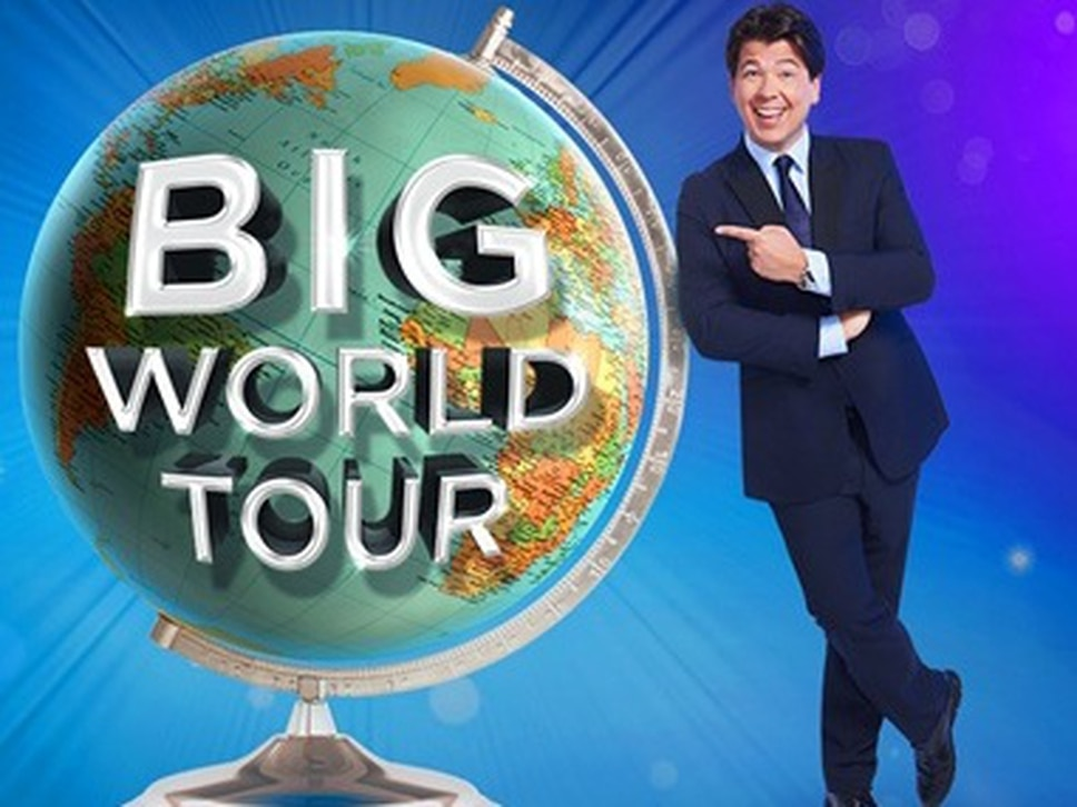 Michael McIntyre adds extra Birmingham date for Big World Tour show