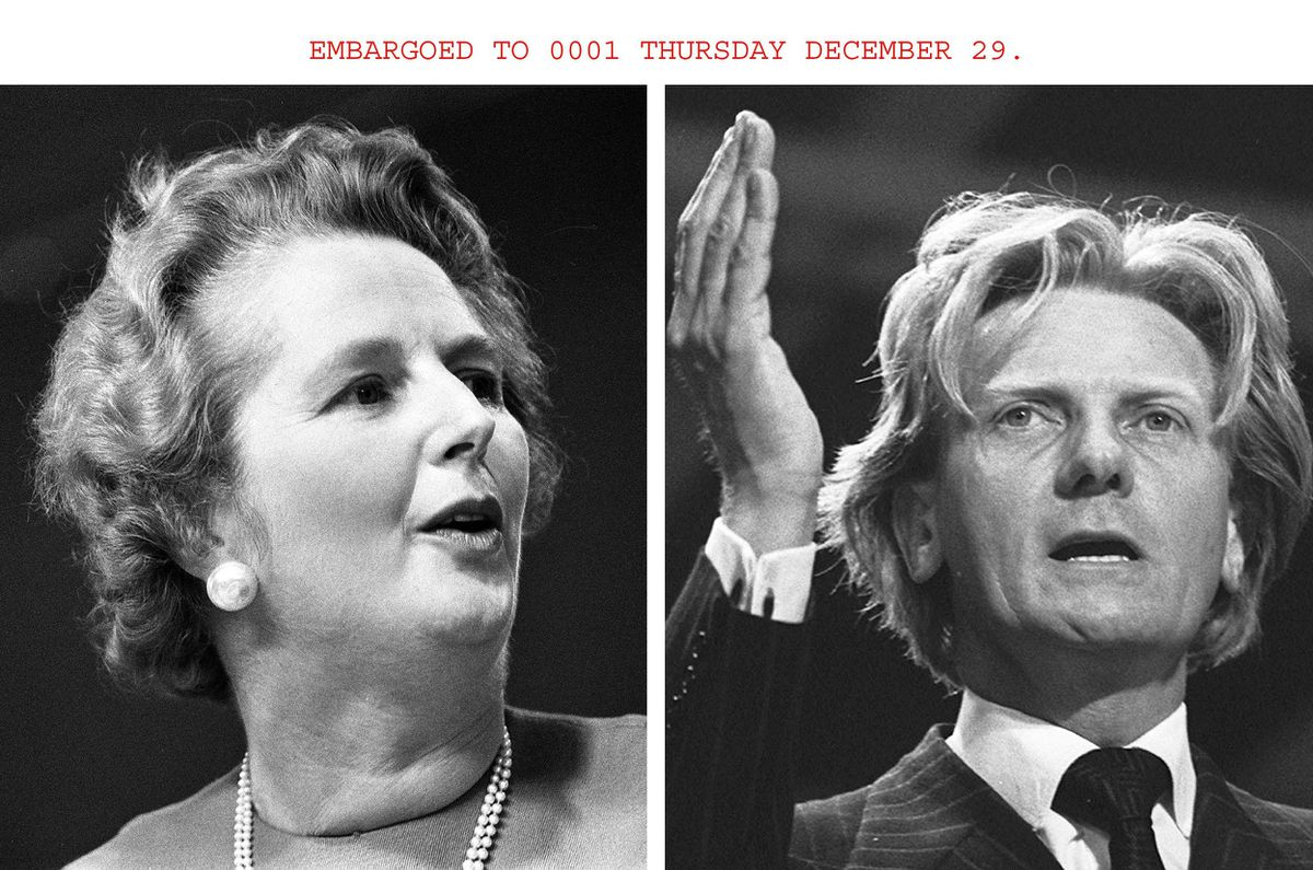 Allies who became enemies: Margaret Thatcher and Michael Heseltine