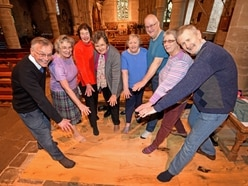 The heat is finally on: Heating restored at Shropshire church
