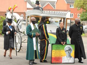 Paulette Wilson's funeral was held at New Testament Church in Wolverhampton