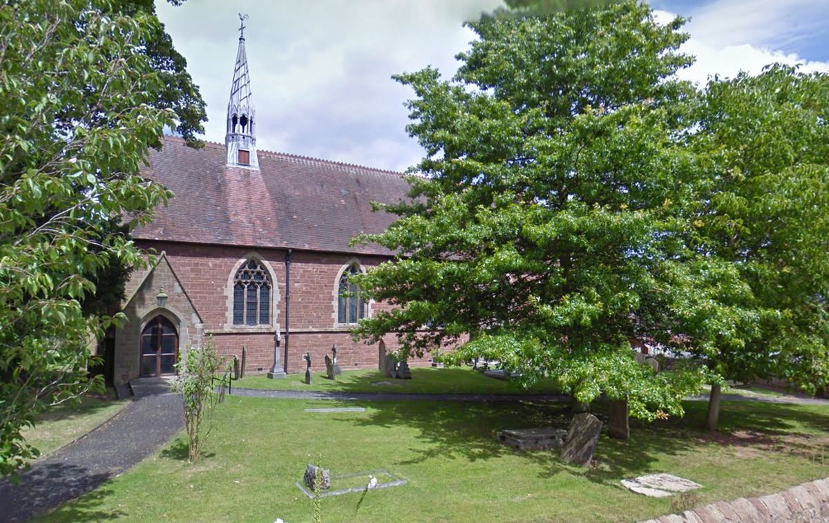 St Andrew's Church in Church Aston. Photo: Google Maps