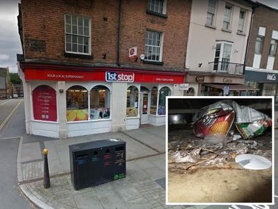 See inside the high street shop fined £40,000 after rat infestation