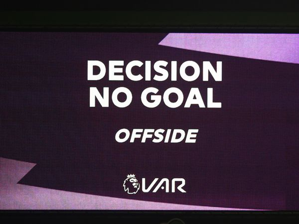 VAR on the screen.