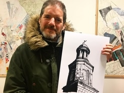 Shrewsbury's The Walking Dead artist's Christmas cards raise cash for charity